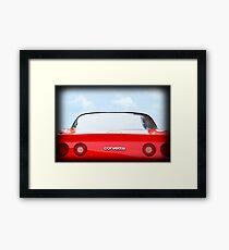 Little Red Corvette Framed Print