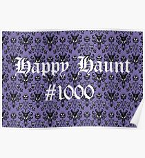 Happy Haunt #1000 Poster