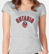 Ontario Women's Fitted Scoop T-Shirt
