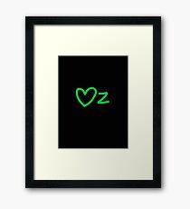 Oz Love Framed Print