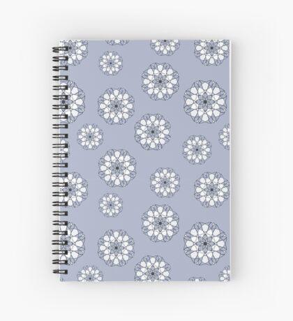 Blue Flowers Spiral Notebook