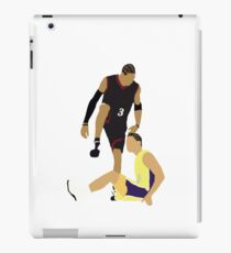 Allen Iverson Steps Over Tyronn Lue  iPad Case/Skin