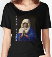 PAPA BLESS Women's Relaxed Fit T-Shirt