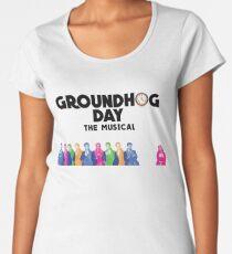 Groundhog Day The Musical Women's Premium T-Shirt