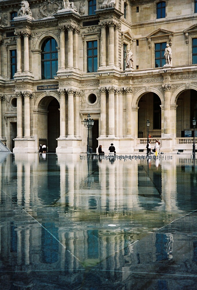 Parisian Reflections by Kate Powick