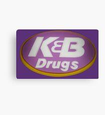 K&B Drugs Canvas Print