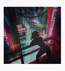 GITS Cyberpunk Fotodruck