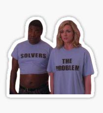 The Problem Solvers! Sticker