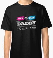 Gender Reveal Party T-Shirt for Mom and Dad Shirt Classic T-Shirt