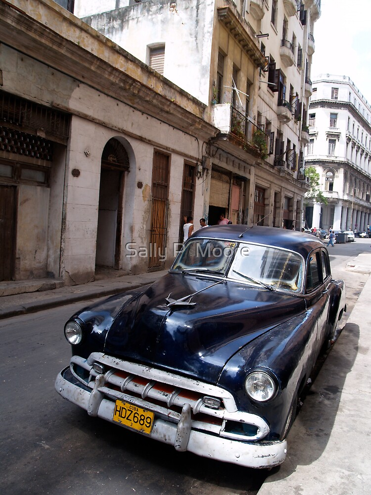 Cuba Classic by Sally P  Moore