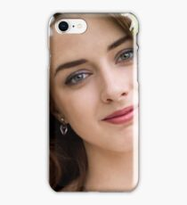 Girl and flower iPhone Case/Skin