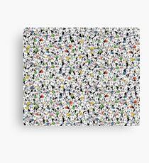 Dalmatian Puppies Canvas Print