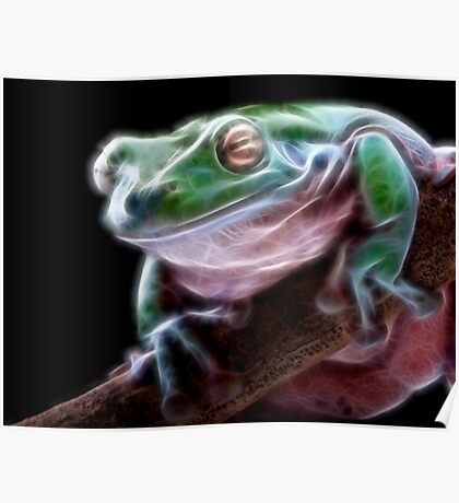 Electric Frog Poster