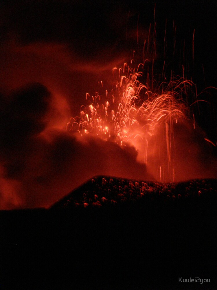 Lava Fountain by Kuulei2you