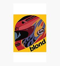Frank Ocean Blond Album Photographic Print