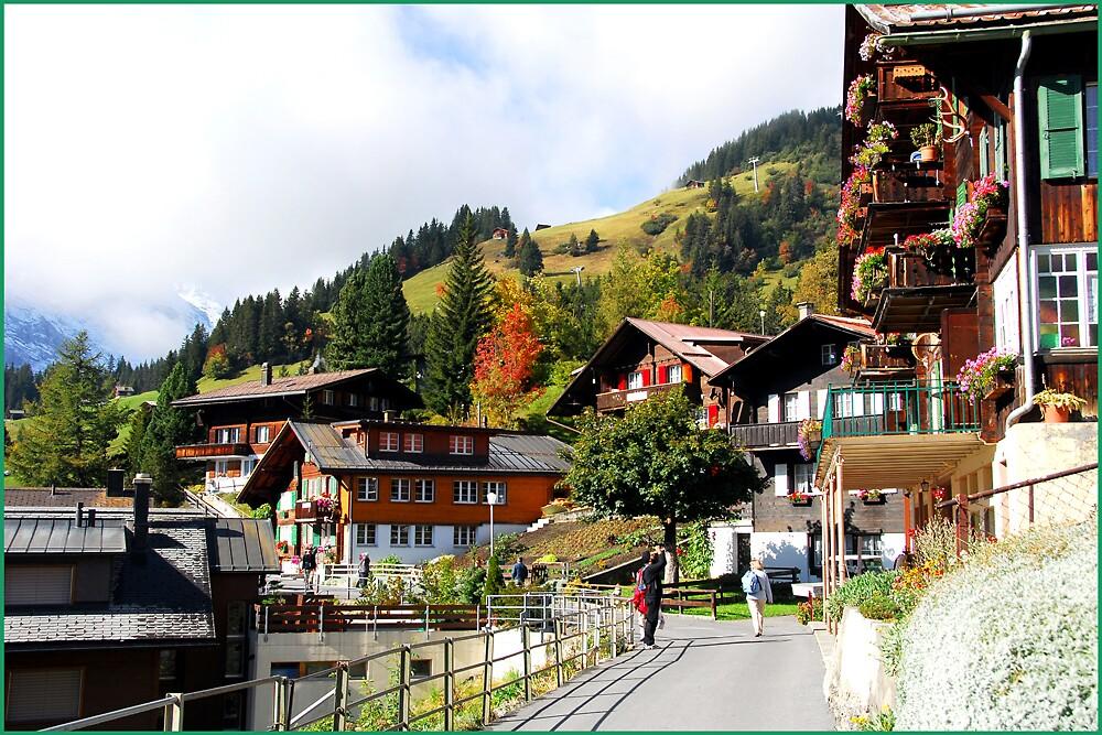 A Swiss street by satwant