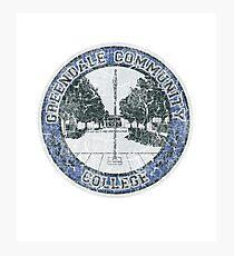 Greendale Community College (Community) Photographic Print