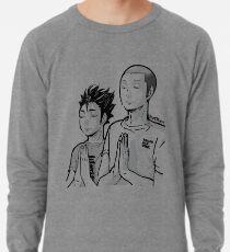 Haikyu!! - TanaNoya Praying Shirt Lightweight Sweatshirt