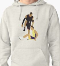 Allen Iverson Steps Over Tyronn Lue  Pullover Hoodie