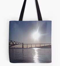 Sunrise Over The Firth Of Forth Tote Bag