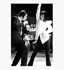 PULP FICTION DANCE Fotodruck