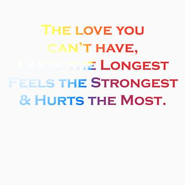 Love Quote #1 - Hits the hardest by Cookiedav