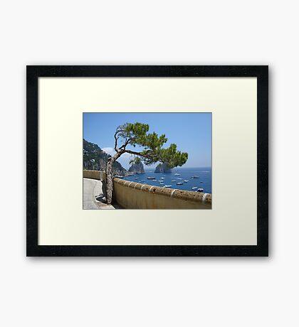 View from Via Krupp Framed Print