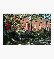 THE DOORS OF DUBLIN Photographic Print
