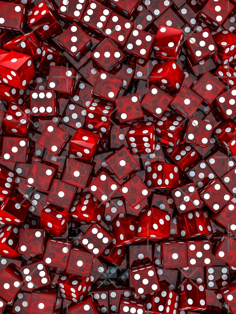 Red dice by GrandeDuc