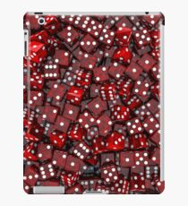 Red dice iPad Case/Skin