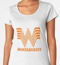 Whataburger Merchandise Women's Premium T-Shirt