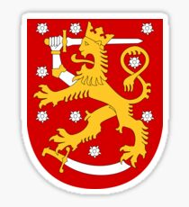 Finland suomi Sticker