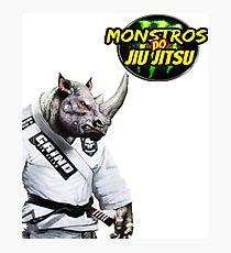 Monstros do Jiu Jitsu Rinoceronte Photographic Print