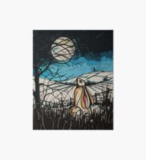 Moonbeam, Moongazer Hare. Art Board