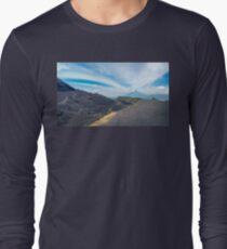 Volcano Pacaya lower crater View Panorama in Guatemala Long Sleeve T-Shirt