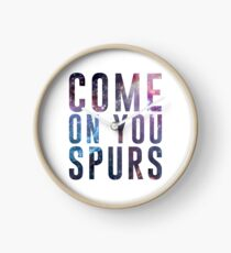 Come On You Spurs N17 Clock