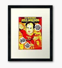 The Incredibel Joss Whedon Framed Print