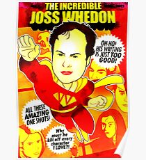 The Incredibel Joss Whedon Poster