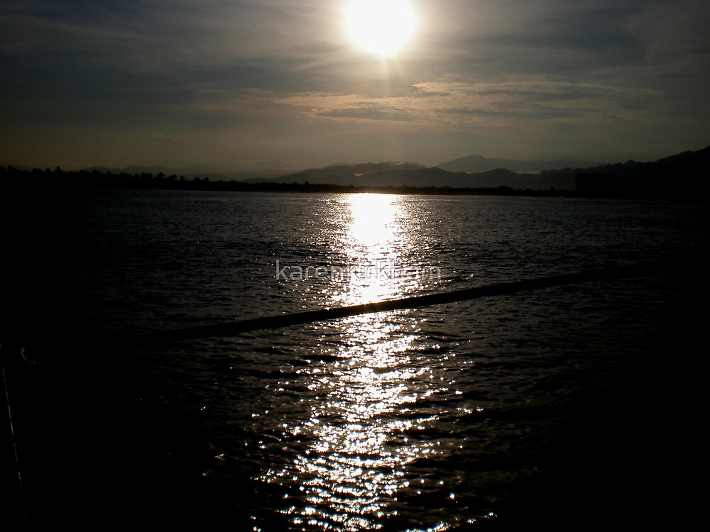 Sun up over Sierra Madre by karenkirkham