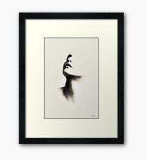 Pencil point Framed Print