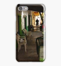 old town of pv - centro histórico de puerto vallarta iPhone Case/Skin