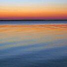 Sunset at Lake King, Metung # 2 by Roz McQuillan
