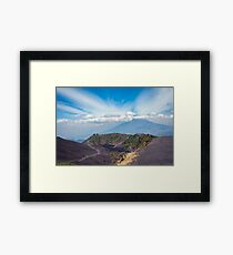 Lower Crater of Volcan Pacaya in Guatemala Framed Print