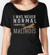 Belgian shepherd - Malinois   Women's Relaxed Fit T-Shirt