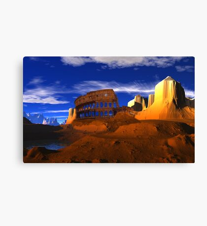 Star Arena Canvas Print