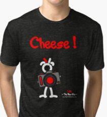 Red - The New Guy - Cheese ! Tri-blend T-Shirt