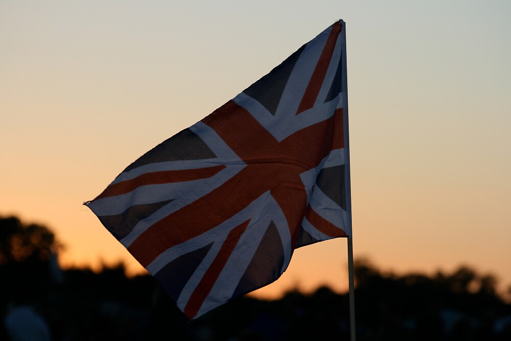Flag in Evening Light by willJohnson