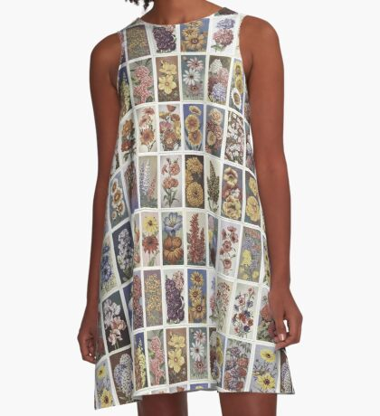 Flowering Annuals set of 50 A-Line Dress