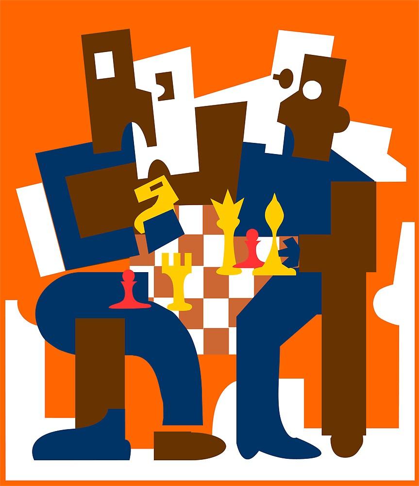 The Chess Players by Stephen Denham