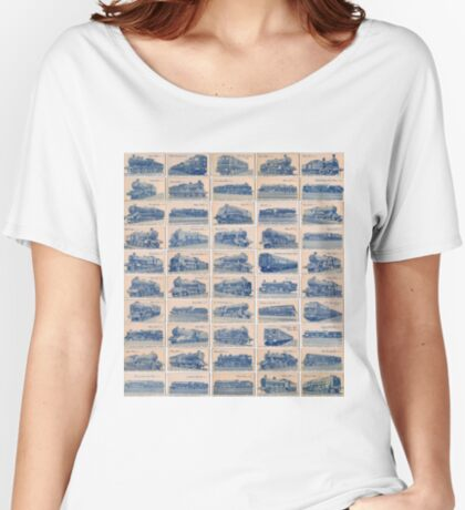 British Railway Locomotives Women's Relaxed Fit T-Shirt